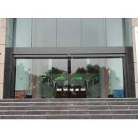 上海玻璃门地弹簧更换维修地锁安装 玻璃门中间锁安装维修