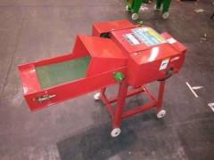 全自动青贮铡草机 新款传送带进料切草机