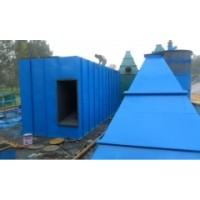脉冲布袋除尘器图纸定制 泊头除尘器制造加工基地