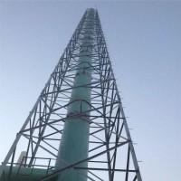 厂家定做 烟囱塔 烟筒塔 角钢烟囱塔