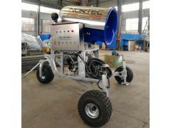 造雪机冬季造雪 湿度下降进行造雪 诺泰克造雪机